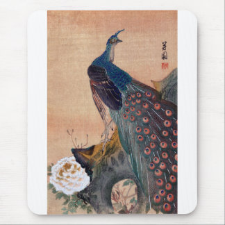 Pavo real japonés no.1 tapetes de raton