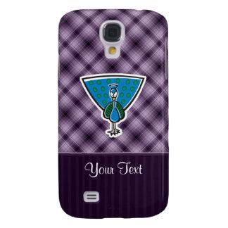 Pavo real lindo Púrpura