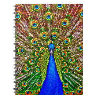 Pavo real note book