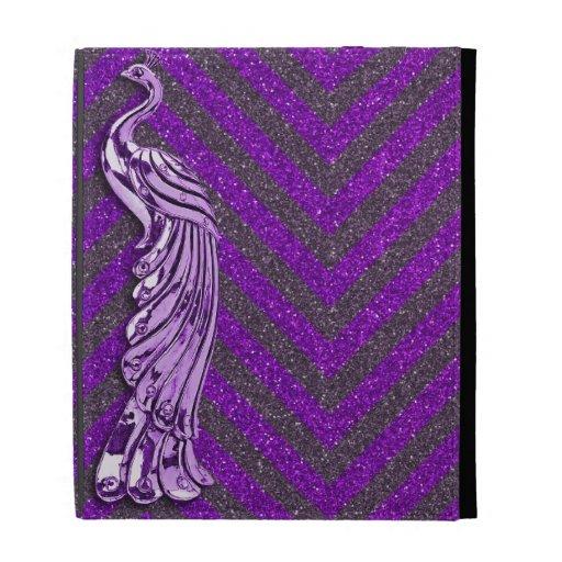 Pavo real púrpura del brillo