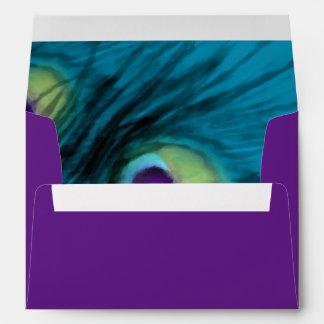 Pavo real púrpura del trullo sobre