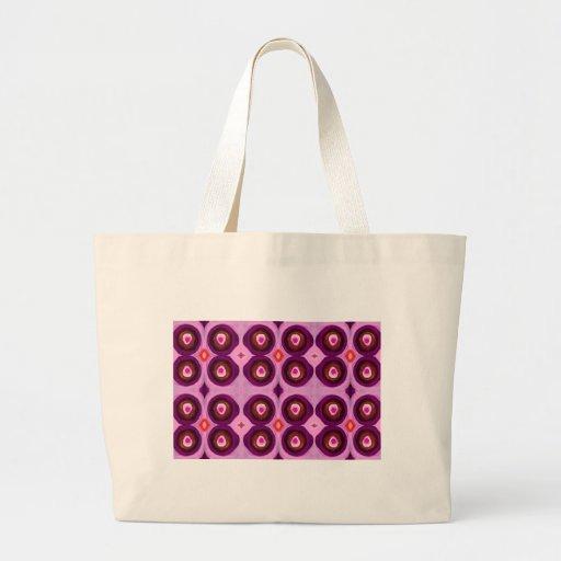 Pavo real rosado bolsa