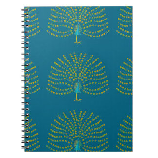 Pavo real spiral notebooks