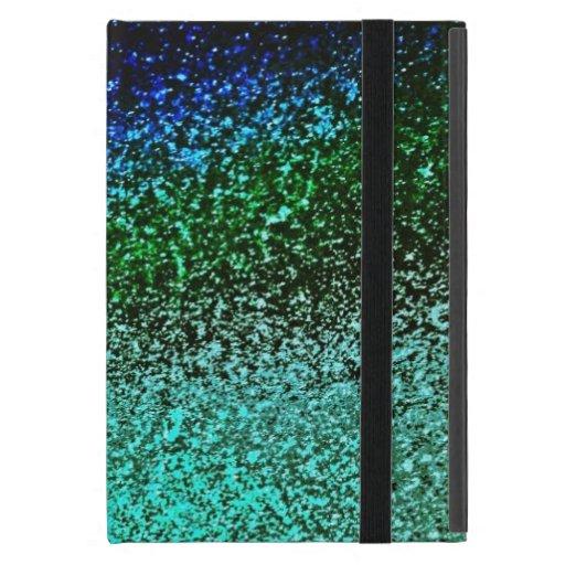 PAVO REAL WATERDROPS iPad MINI CÁRCASA