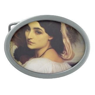 Pavonia de Federico Leighton- Hebillas De Cinturón