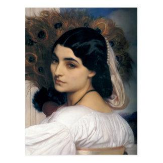 Pavonia - Lord Frederick Leighton Post Card
