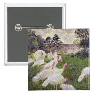Pavos de Claude Monet el | en Chateau de Pin Cuadrado