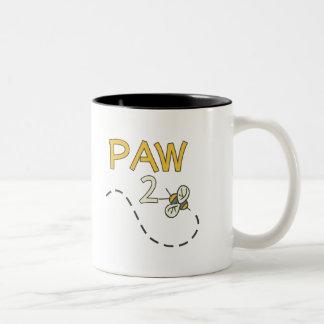 Paw 2 Bee Two-Tone Coffee Mug