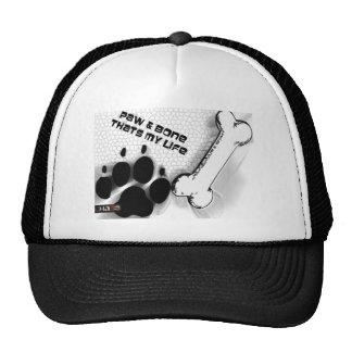 Paw and Bone Trucker Hat