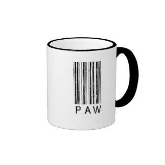 Paw Barcode Ringer Mug