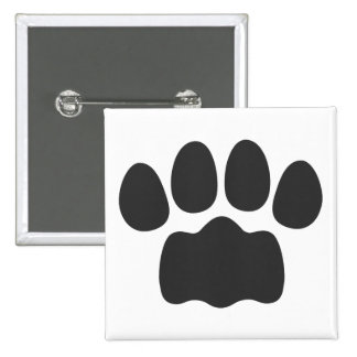 Paw Pinback Buttons