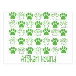 Paw by Paw Afghan Hound Postcards