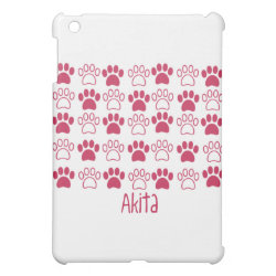 Paw by Paw Akita Cover For The iPad Mini