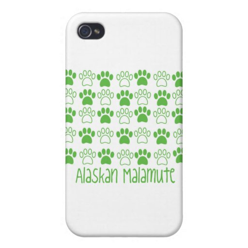 Paw by Paw Alaskan Malamute iPhone 4 Cover