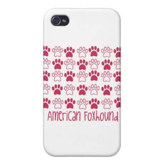 Paw by Paw American Foxhound iPhone 4 Cases