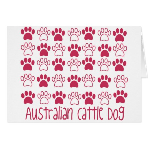 Paw by Paw Australian Cattle Dog Cards