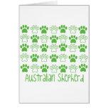Paw by Paw Australian Shepherd Card