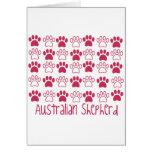 Paw by Paw Australian Shepherd Greeting Cards