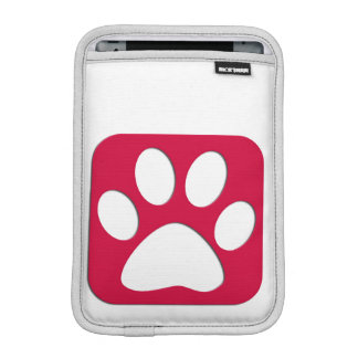 Paw casting iPad mini sleeve
