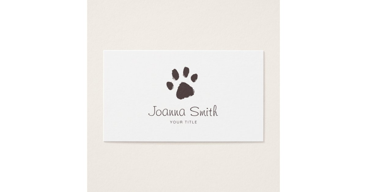 Pet Sitting Business Cards & Templates | Zazzle