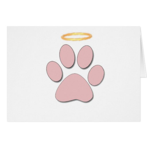 Paw Greeting Card