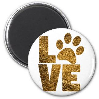 Paw Love Magnet