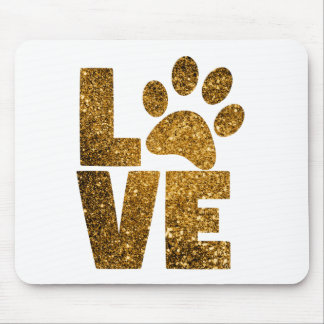 Paw Love Mouse Pad
