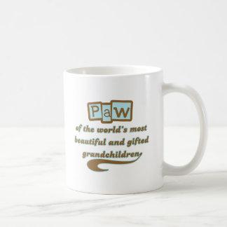 Paw of Gifted Grandchildren Coffee Mug