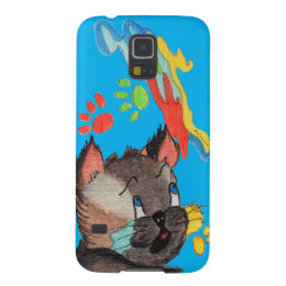 Paw Painting Samsung Galaxy S5 Case