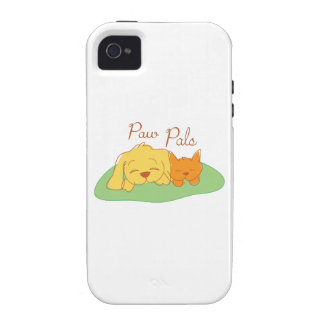 Paw Pals iPhone 4 Case