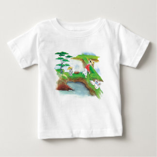 Paw Paw on the Rice Paddies Infant T Baby T-Shirt