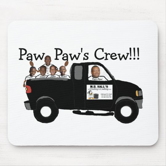 Paw Paws Crew Mouse Pad
