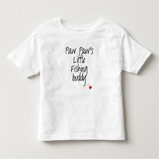 Paw Paw's Little Fishing Buddy Toddler T-shirt