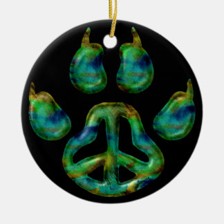 Paw Peace Ornament