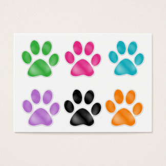 Paw Print by SRF Business Card