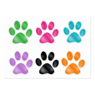 Paw Print by SRF Business Card Templates