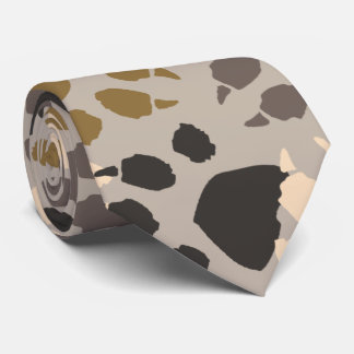 Paw Print Camo Neck Tie