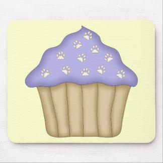 Paw Print Cupcake Mouse Pad