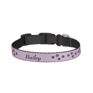 Paw Print Dog Collar