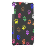 Paw print dog pet colorful pawprints cute, gift iPad mini cases