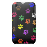 Paw print dog pet fun iphone 3G case mate barely iPhone 3 Covers