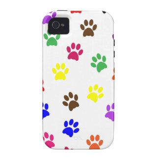 Paw print dog pet fun iphone 4 case mate tough