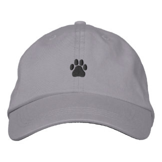 Paw Print Embroidered Baseball Hat