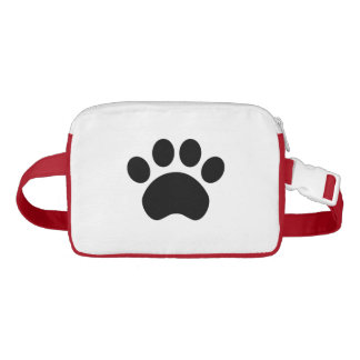 Paw Print Fanny Pack