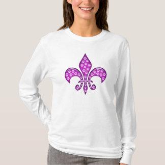 Paw print Fleur de lis! T-Shirt