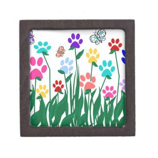 Paw print flower garden Mass Production Gift Box