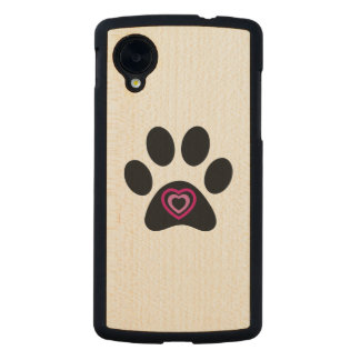 Paw Print Google Nexus Case