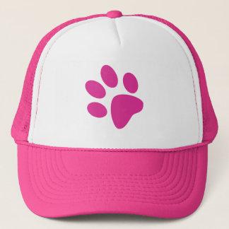 Paw Print Hat - Pink
