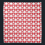 """Paw Print Heart Bandana<br><div class=""""desc"""">Show your support with the purchase of this bandana and a percentage of your purchase goes directly to the Pottstown Parks and Recreation Foundation to be used by the Pet Fair Committee in support of all pet related causes!</div>"""