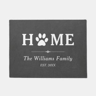 Dog Doormats Amp Welcome Mats Zazzle
